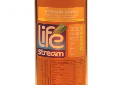 Студен чай с витамини  Life stream