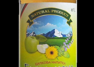 Билкова напитка Балканска със зелена ябълка