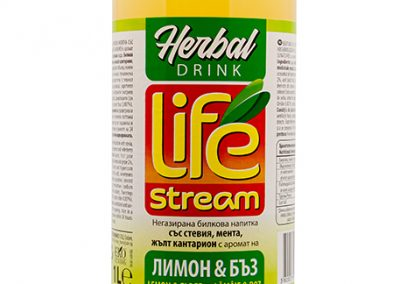 Life Stream Herbal Lemon and elder