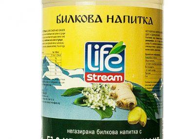 Life Stream Herbal Бъз цвят и Джинджифил