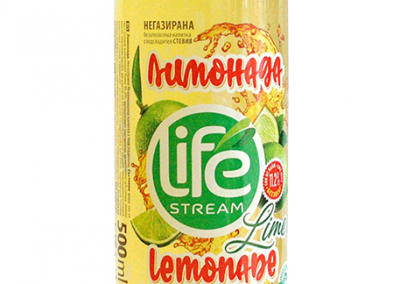 Негазирана лимонада лайм със стевия